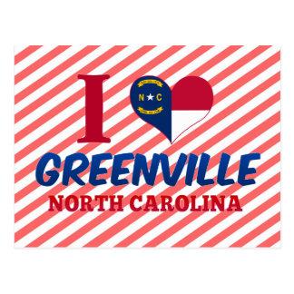 Carte Postale Greenville, la Caroline du Nord