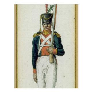 Carte Postale Grenadier de la garde d'Alexandre I