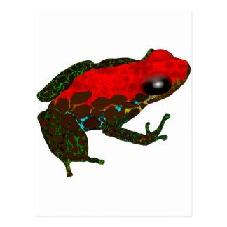 Carte Postale Grenouille de dard de forêt tropicale