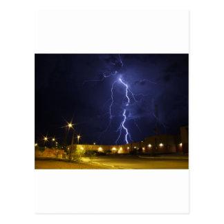 Carte Postale Grève de éclairage