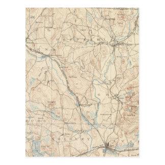 Carte Postale Groton, le Massachusetts