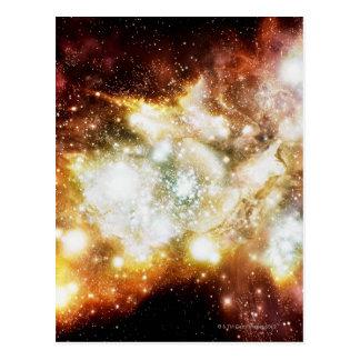 Carte Postale Groupe superbe de naissance d'étoile