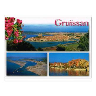 Carte Postale Gruissan, Cote d'Azur, multiview