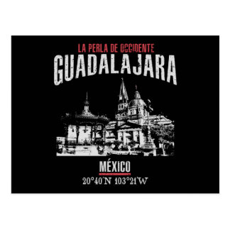 Carte Postale Guadalajara