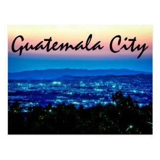 Carte Postale Guatemala City, Guatemala, Amérique Centrale au
