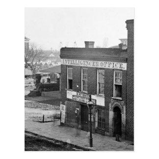 Carte Postale Guerre civile à Atlanta, 1864