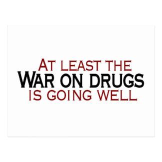 Carte Postale Guerre sur des drogues