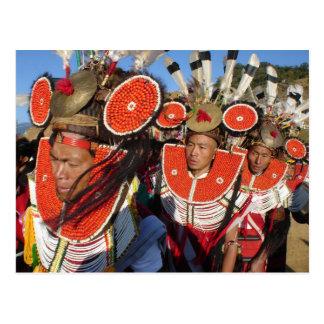 Carte Postale Guerriers de Naga