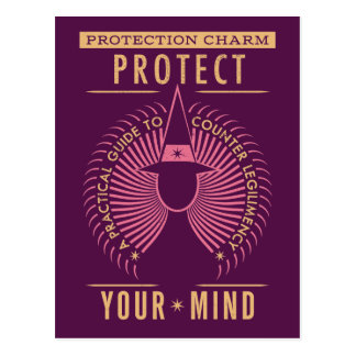 Carte Postale Guide de charme de protection