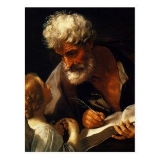 Carte Postale Guido Reni- St Matthew