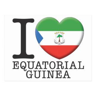 Carte Postale Guinée équatoriale
