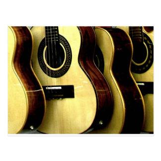 Carte Postale guitar