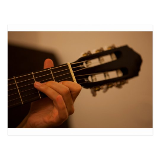 Carte Postale guitar player
