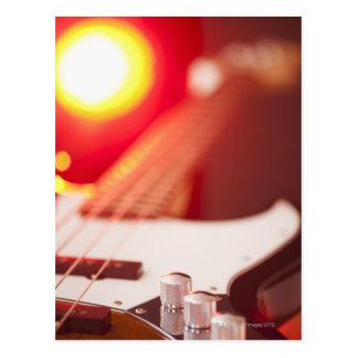 Carte Postale Guitare basse