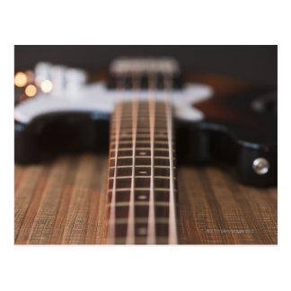Carte Postale Guitare basse 2