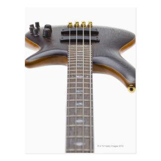 Carte Postale Guitare basse électrique