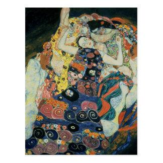 """Carte Postale Gustav Klimt : """"le premier """""""