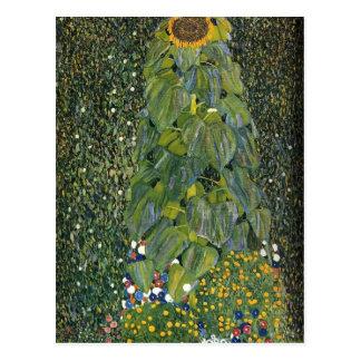 Carte Postale Gustav Klimt- le tournesol