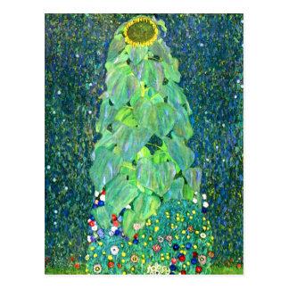 Carte Postale Gustav Klimt : Tournesol