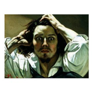 Carte Postale Gustave Courbet - l'homme désespéré
