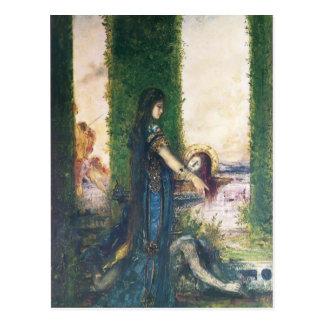 Carte Postale Gustave Moreau : Salome dans le jardin