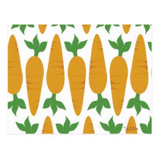 Carte Postale Gwennie le petit pain : Champ des carottes