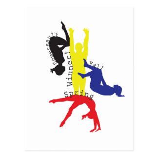 Carte Postale Gymnastique 365