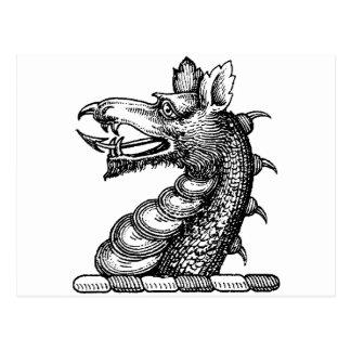 Carte Postale Habillement 9 de dragon