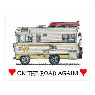 Carte Postale Habillement du campeur rv de Winnebago