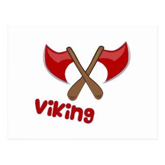 Carte Postale Hache de Viking