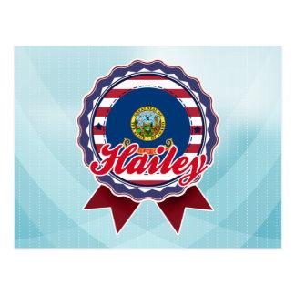 Carte Postale Hailey, identification