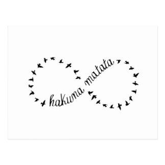 Carte Postale Hakuna Matata