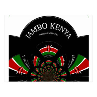 Carte Postale Hakuna Matata Jambo Kenya