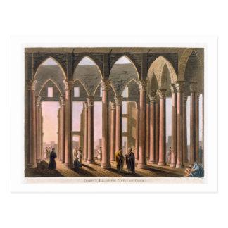 Carte Postale Hall de Joseph dans le château du Caire, plaquent