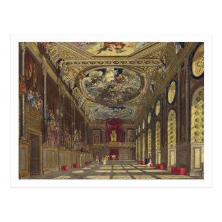 Carte Postale Hall de St George, château de Windsor, 'de