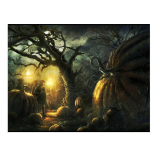 Carte Postale Halloween heureux !