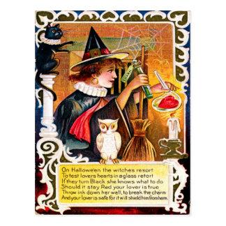 Carte Postale Halloween vintage