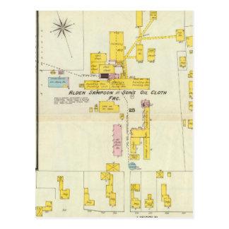 Carte Postale Hallowell, comté de Kennebec, et le Maine 2