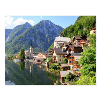 Carte postale Hallstatt, Autriche