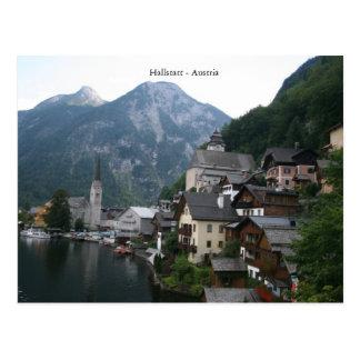 Carte Postale Hallstatt - l'Autriche