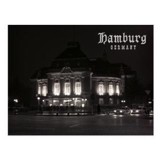 Carte Postale Hambourg