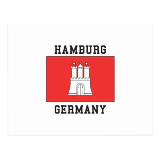 Carte Postale Hambourg Allemagne
