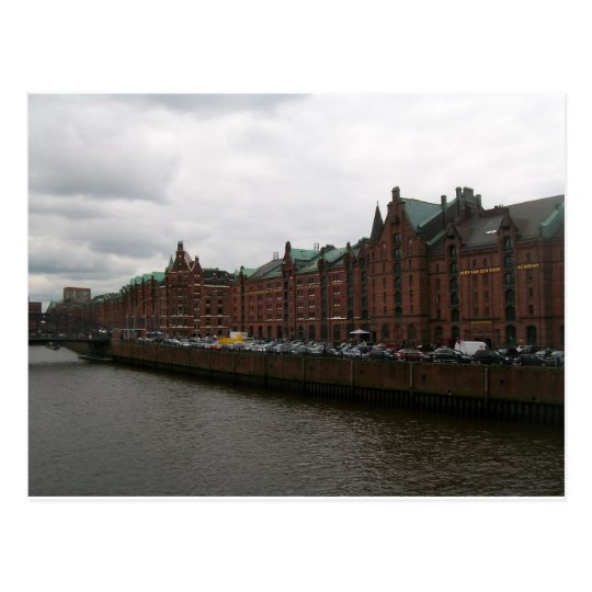 Carte Postale Hamburg