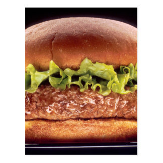 Carte Postale Hamburger juteux