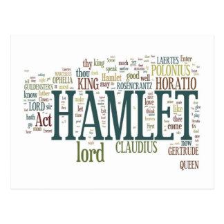 Carte Postale Hamlet !