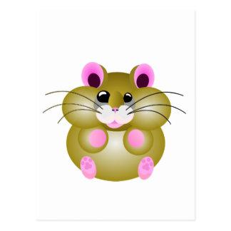 Carte Postale Hamster dodu