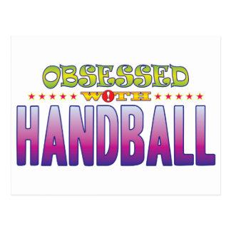 Carte Postale Handball 2 hanté
