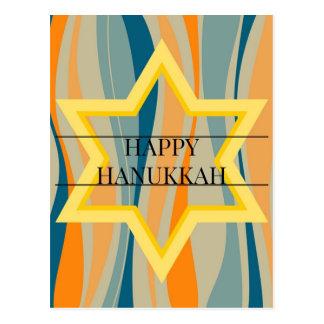Carte Postale Hanoukka étoilé