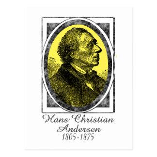 Carte Postale Hans Christian Andersen