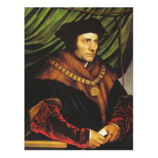 Carte Postale Hans Holbein - portrait de monsieur Thomas More